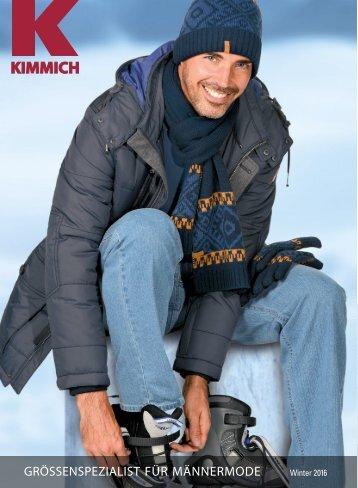 Kimmich Mode-Versand | Größenspezialist für Männermode | Winter 2016