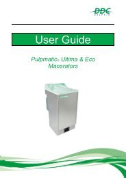 User Guide Pulpmatic Ultima  Eco V2.3