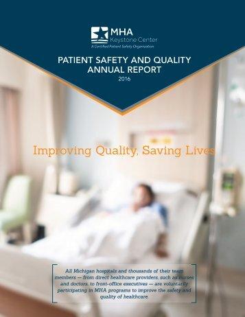 Improving Quality Saving Lives