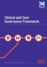 Clinical and Care Governance Framework
