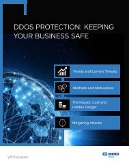 DDOS PROTECTION KEEPING YOUR BUSINESS SAFE