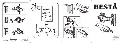 Ikea BESTÅ - S49047869 - Assembly instructions
