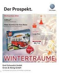 VW Prospekt - Weihnachten 2016