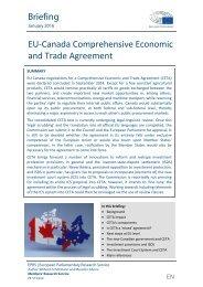 EU-Canada Comprehensive Economic and Trade Agreement