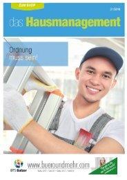 Themenwelt Das Hausmanagement - BTS Balzer