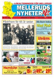 Glad Påsk - Melleruds Nyheter