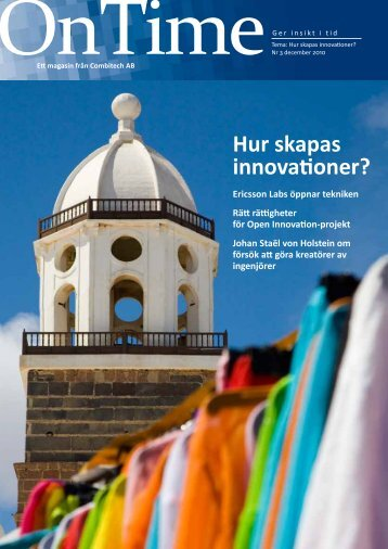Hur skapas innovationer? - Combitech.se