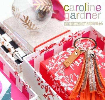 Caroline Gardner Christmas Look Book 2016