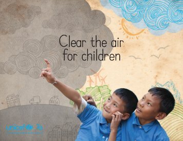 2 The impact of air pollution on children