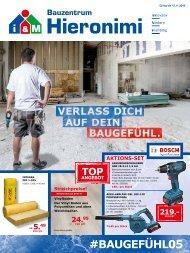 Bauzentrum Hieronimi 10/2016