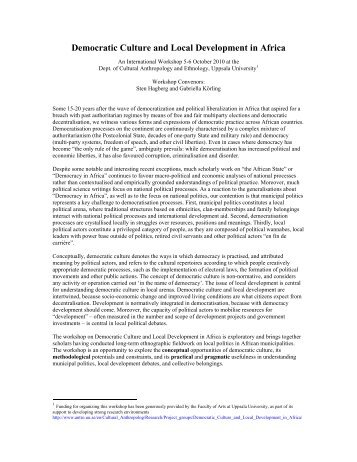 an introduction to the development of civilization in east africa Section 103 east africa and swahili culture: 05 hours  this will give you a  good overview of the development of the earliest civilizations in africa  please  read the entirety of the introduction and the selection, paying special attention to  leo.