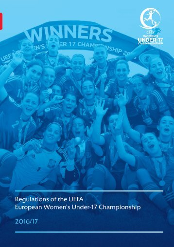 Regulations of the UEFA European Women's Under-17 Championship 2016/17