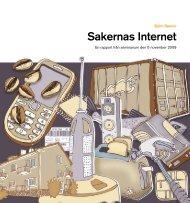 Sakernas Internet