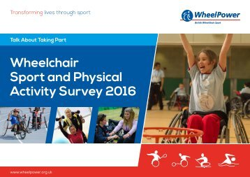 Wheelchair Sport and Physical Activity Survey 2016