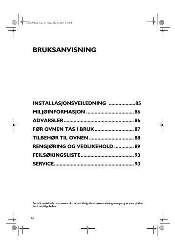 KitchenAid OV B32 S - Oven - OV B32 S - Oven NO (857927229000) Istruzioni per l'Uso