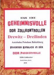 Geheimnisvolle DDR Zollkontrollen Drewitz-Dreilinden