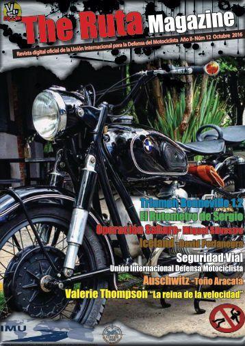 TheRuta Magazine Edicion 12 Octubre 2016