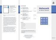 Mathematik - Oldenbourg Verlag