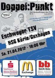 HSG Körle/Guxhagen - Eschweger TSV