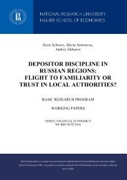 FLIGHT TO FAMILIARITY OR TRUST IN LOCAL AUTHORITIES?