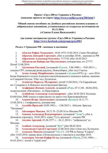 груз -200 на 01.11. 2016