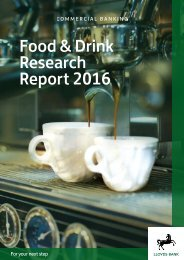 Food & Drink Research Report 2016