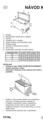 KitchenAid HF1250AP - Freezer - HF1250AP - Freezer CS (850794929000) Mode d'emploi