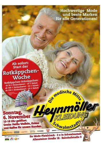 Rotkäppchenwoche bei Heynmöller Kleidung in Treysa