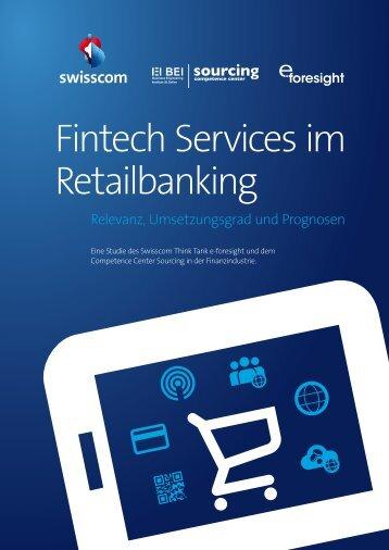 Fintech Services im Retailbanking