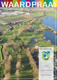 Clubblad van Golfclub De Dorpswaard   Oktober 2016 nr 101