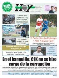 En el banquillo CFK no se hizo cargo de la corrupción