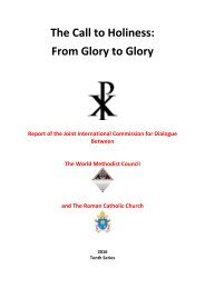 The Call to Holiness From Glory to Glory