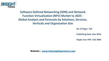 Software Defined Networking (SDN) and Network Function Virtualization (NFV) Market Outlook 2025 |The Insight Partners