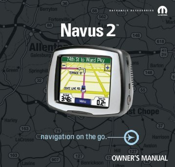Garmin STPc530 OEM,AM,Mopar,KA Kit - Owner's Manual (EN/FR/ES)