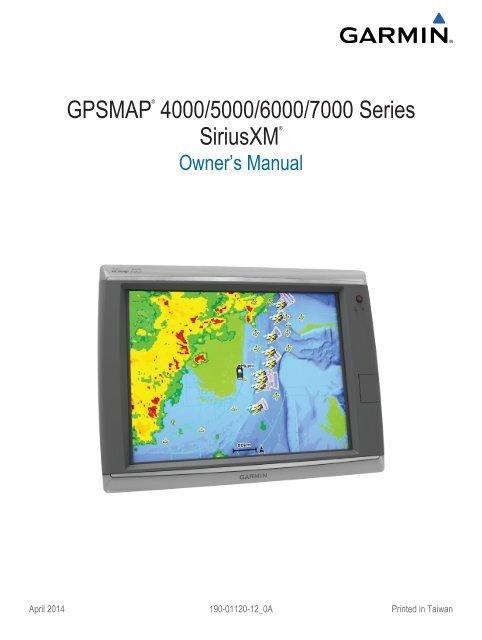 Garmin 5208 Owners Manual
