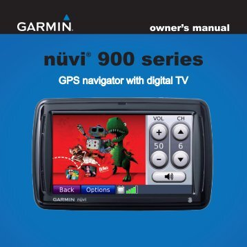user manual garmin nuvi 255w my pdf manuals rh yumpu com Garmin G3 GPS User Manual garmin nuvi 200 gps manual