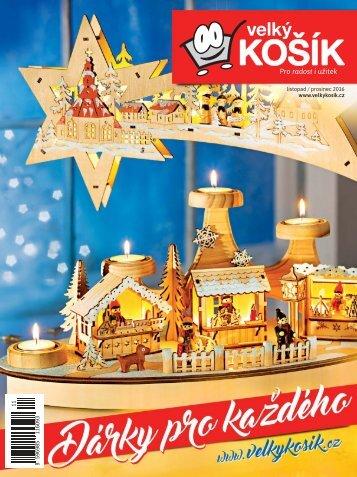 Velký Košík - listopad / prosinec