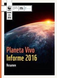 Living Planeta Planet Vivo Report Informe 2016