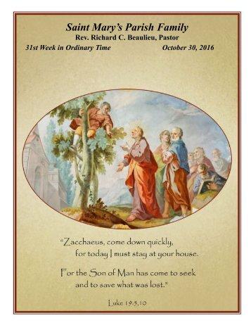 Saint Mary's Parish Family