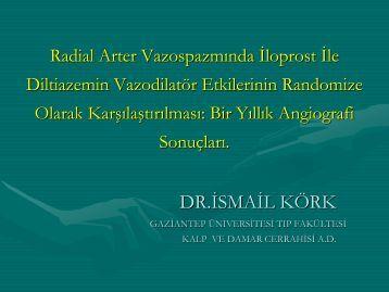 materyal - metod - Türk Kalp ve Damar Cerrahisi Derneği
