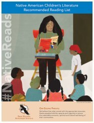 Native American Children's Literature Recommended Reading List