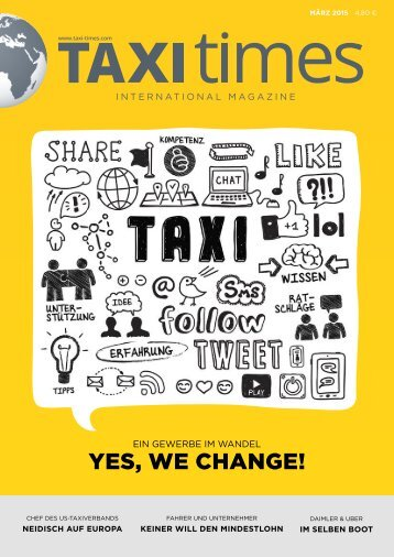 Taxi Times International - März 2015