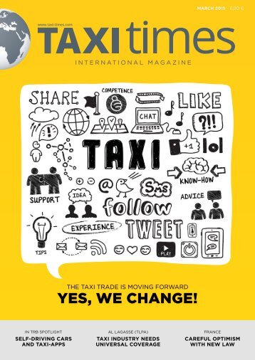 Taxi Times International - March 2015 - English