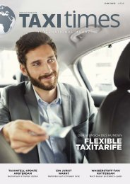 Taxi Times International - Juni 2015 - Deutsch