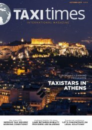 Taxi Times International - October 2015 - English
