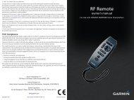 Garmin GPSMAP® 5012 (Multiple Station Display) - Remote Owner's Manual
