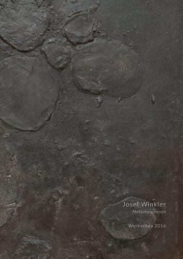 "Josef Winkler Katalog 2016 ""Metamorphosen"""