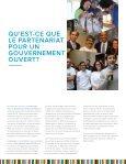 PARTENARIAT POUR UN GOUVERNEMENT OUVERT - Page 3