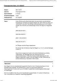 Finanzgericht Köln, 26.01.2012, 6 K 4538-07, wirtschaftliche Vorteil ...