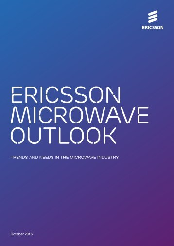 Ericsson Microwave Outlook
